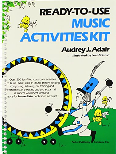 9780137622955: Ready-To-Use Music Activities Kit