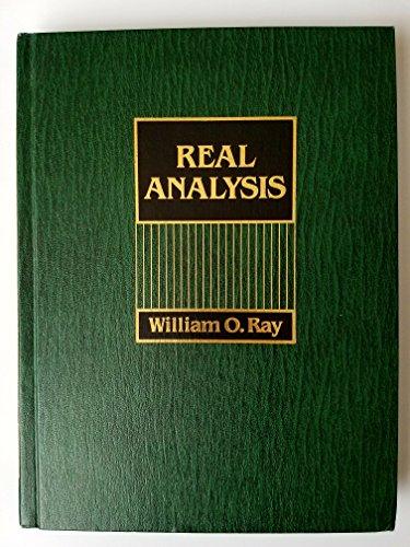 9780137623860: Real Analysis