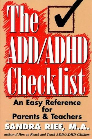 9780137623952: The ADD/ADHD Checklist