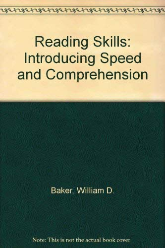 9780137624027: Reading Skills: Improving Speed and Comprehension