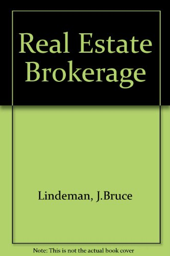 9780137624690: Real Estate Brokerage