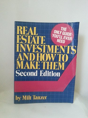 9780137625192: Real Estate Investment How to Make Them