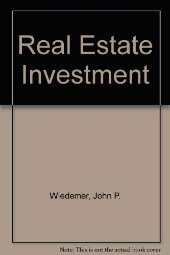 9780137632367: Real Estate Investment