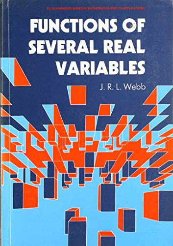 9780137634347: Functions of Several Real Variables (Ellis Horwood Series in Mathematics & Its Applications)