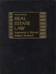 9780137634750: Real Estate Law