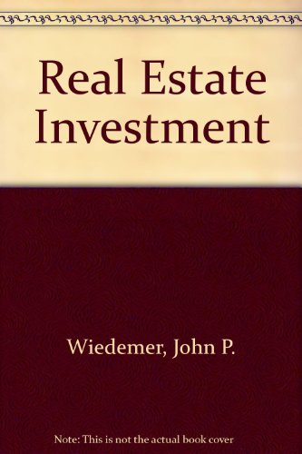 9780137635580: Real Estate Investment