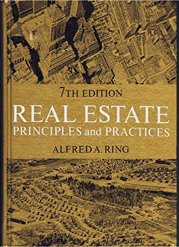 9780137658008: Real estate principles and practices
