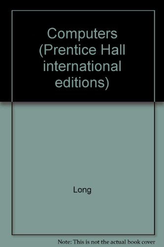 9780137698295: Computers (Prentice Hall international editions)