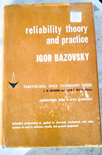 9780137731503: Reliability Theory and Practice