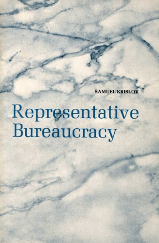 9780137737475: Representative Bureaucracy (Foundations of Public Administration)