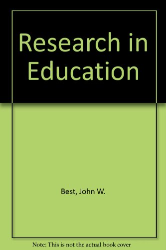 9780137742905: Research in Education