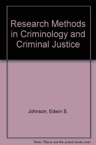 9780137743490: Research methods in criminology and criminal justice (Prentice-Hall series in criminal justice)