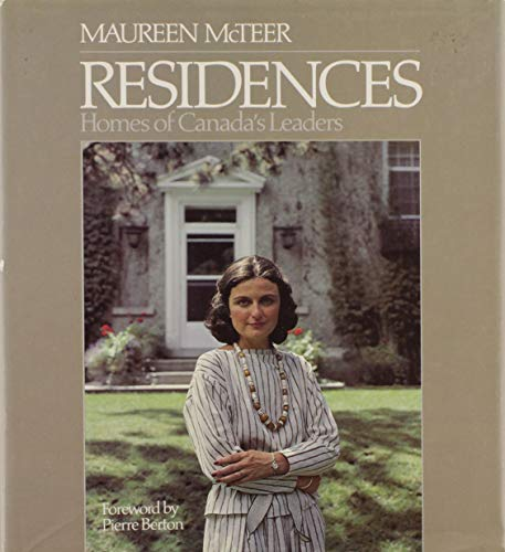 9780137745395: Residences: Homes of Canada's Leaders