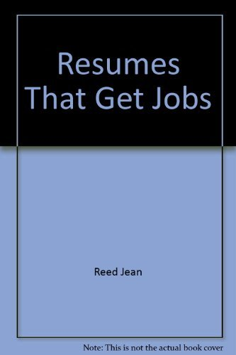 9780137750818: Resumes That Get Jobs