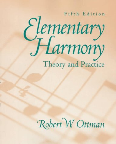 9780137755035: Elementary Harmony: Theory and Practice with CD (5th Edition)