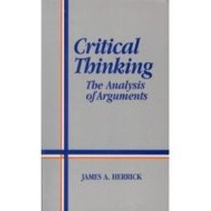 9780137767335: Critical Thinking: The Analysis of Arguments