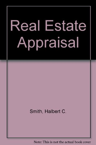 9780137771868: Real Estate Appraisal