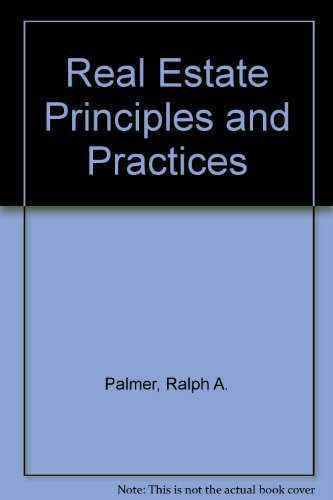 9780137773350: Real Estate Principles and Practices