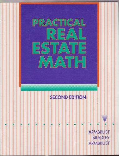 9780137777075: Practical Real Estate Math