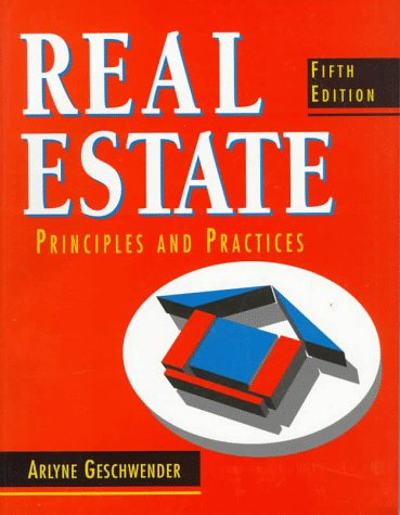 9780137780280: Real Estate Principles and Practices