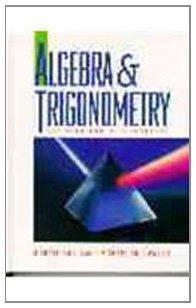 9780137784813: Algebra and Trigonometry: Graphing and Data Analysis