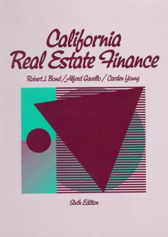 9780137798773: California Real Estate Finance