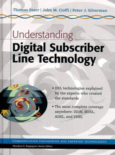 an in depth of the digital subscriber line dsl technology From the back cover: digital subscriber line technology heralds the age of digital communication, providing a faster, more efficient method of transmitting data over regular telephone.