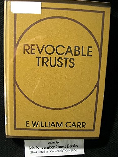 9780137806010: Revocable trusts