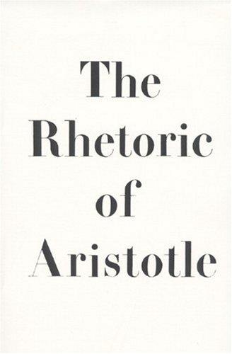 9780137806928: The Rhetoric of Aristotle