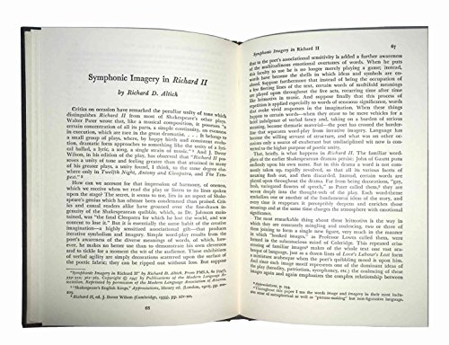 "9780137808748: Shakespeare's ""King Richard II"": A Collection of Critical Essays (20th Century Interpretations)"