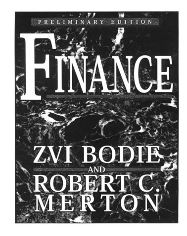 9780137813452: Finance Preliminary Edition