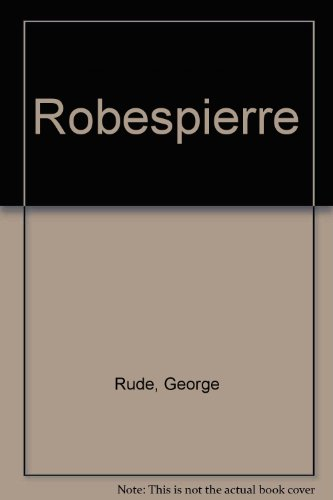 9780137819713: Robespierre