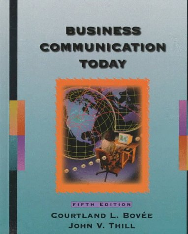 9780137830022: Business Communication Today (5th ed)
