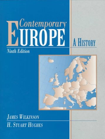 9780137830107: Contemporary Europe: A History (9th Edition)