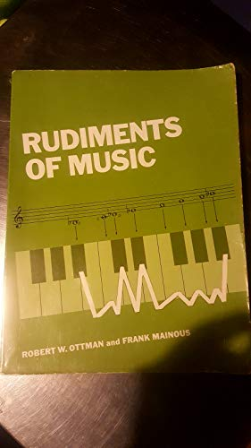 9780137836628: Rudiments of music