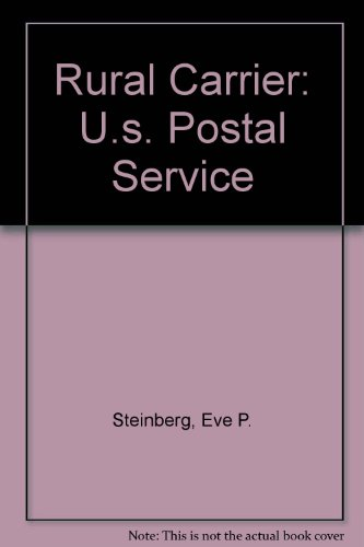 Rural Carrier: U.S. Postal Service (Civil service test tutor) (0137844719) by Eve P. Steinberg