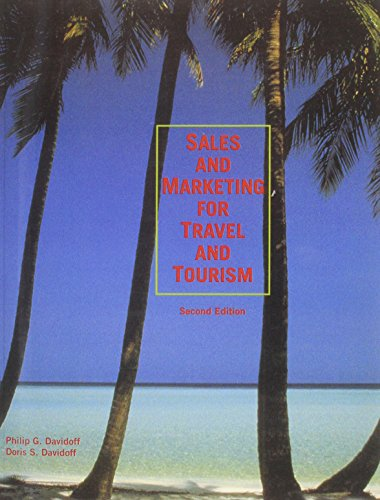 Sales and Marketing for Travel and Tourism (2nd Edition) - Davidoff, Doris S.; Davidoff, Philip G.