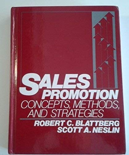 9780137881673: Sales Promotion: Concepts, Methods, and Strategies