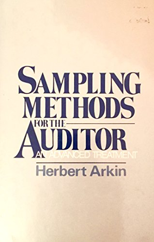 9780137882335: Sampling Methods for the Auditor: An Advanced Treatment