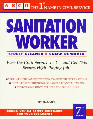 9780137883165: Sanitation Worker (Arco civil service test preparation series)