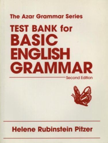 9780137884803: Test Bank For Basic English Grammar: Second Edition