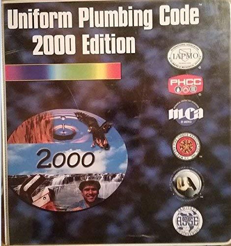 9780137893393: Uniform Plumbing Code 2000 Edition