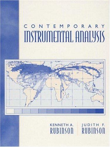9780137907267: Contemporary Instrumental Analysis