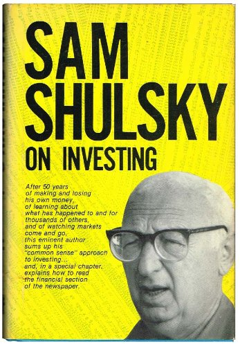 9780137909070: Sam Shulsky on investing