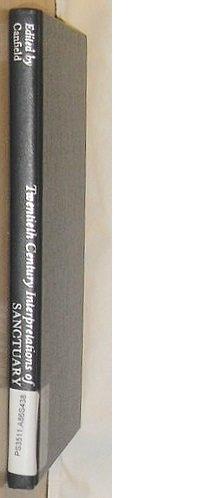 9780137912285: Twentieth Century Interpretations of Sanctuary: A Collection of Critical Essays
