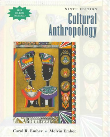 9780137915347: Cultural Anthropology, (Free CD-ROM enclosed)