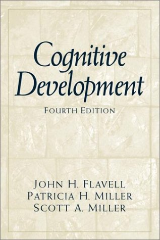 9780137915750: Cognitive Development (4th Edition)