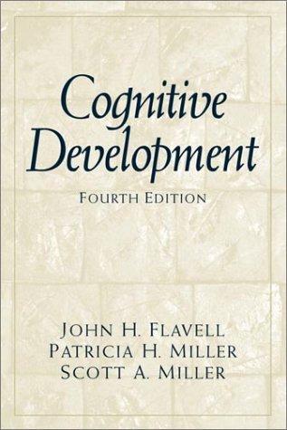 9780137915750: Cognitive Development (4th Edition)