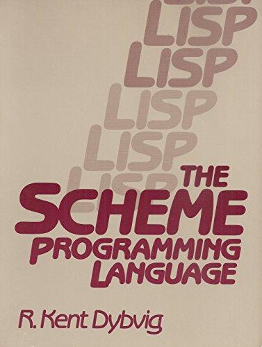 9780137918645: The Scheme Programming Language