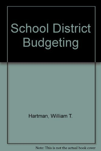 9780137922925: School District Budgeting